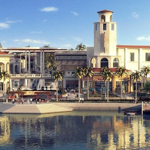 La Isla Merida town center