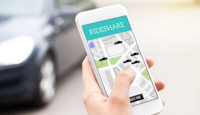 Ridesharing app - how ridesharing impacts the environment and architectural development